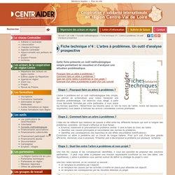 Fiche technique n°4 : L'arbre à problèmes. Un outil d'analyse prospective > Conseils méthodologiques > Les outils : Centraider
