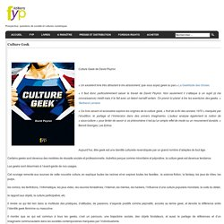 FYP Editions - Prospective, questions de société et cultures numériques.