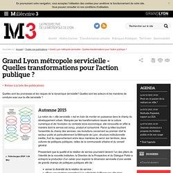 Ressources de la prospective territoriale et économique du Grand Lyon