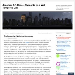 Jonathan F.P. Rose - Thoughts on a Well Tempered City
