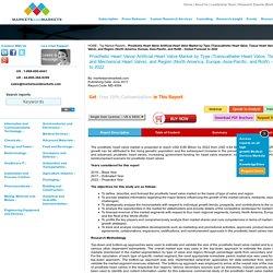 Prosthetic Heart Valve Market by Type & Region - 2022