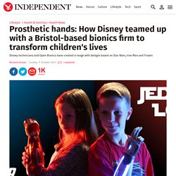 Prosthetic hands: How Disney teamed up with a Bristol-based bionics firm to transform children's lives
