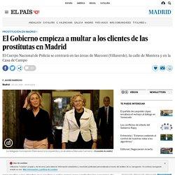 Prostitución: La Delegación empieza a multar a los clientes de las prostitutas en Madrid