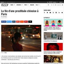 La Vie d'une prostituée chinoise à Paris