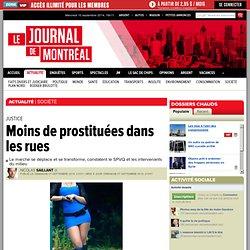 Moins de prostituées dans les rues ?