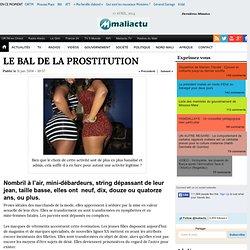 LE BAL DE LA PROSTITUTION