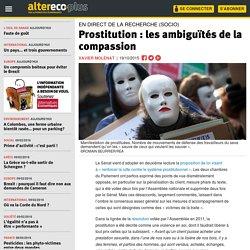 Prostitution : les ambiguïtés de la compassion
