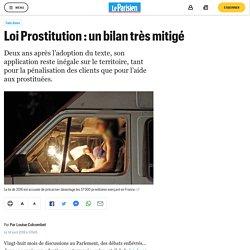 Loi Prostitution : un bilan très mitigé