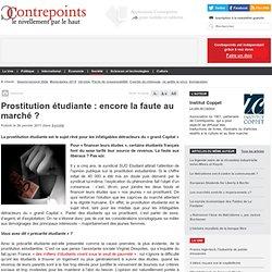 Prostitution étudiante : encore la faute au marché ?