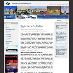 Dossier sur la Prostitution - Innovation Democratique