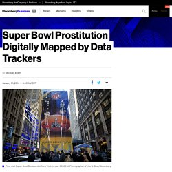 Super Bowl Prostitution Digitally Mapped by Data Trackers