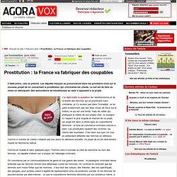 Prostitution : la France va fabriquer des coupables