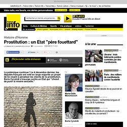 "Prostitution : un Etat ""père fouettard"""