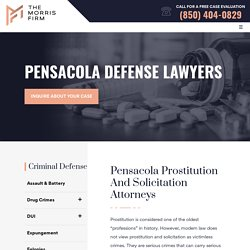 Pensacola Prostitution and Solicitation Attorneys