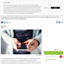 Protección de Datos multa con 10.000 euros a un hombre por difundir en WhatsApp fotos íntimas de terceros