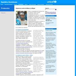 Dominican Republic - Protección - Violencia Intrafamiliar