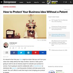 How to Protect Your Business Idea Without a Patent