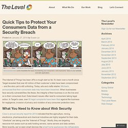 Quick Tips to Protect Your Consumers Data from a Security Breach