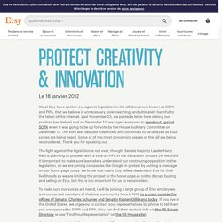 Protect Creativity & Innovation