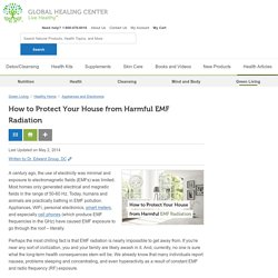How to Protect Your House from Harmful EMF Radiation