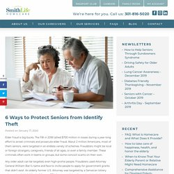 6 Ways to Protect Seniors from Identify Theft
