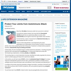 Protect Your Joints from Autoimmune Attack