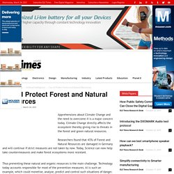 Can AI Protect Forest and Natural Resources