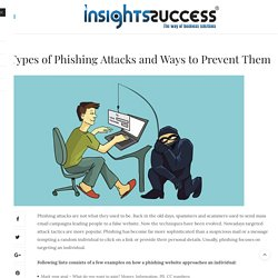 How protect from phishing attacks- Insights Success