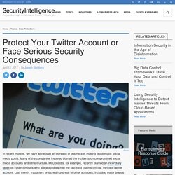 Protect Your Twitter Account or Face Serious Security Consequences