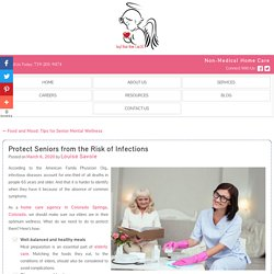 Protect Seniors from the Risk of Infections