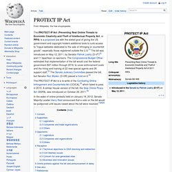 PROTECT IP Act