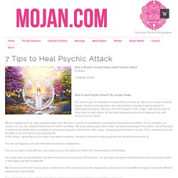 How to Protect Yourself From Psychic Attack? - Mojan.com