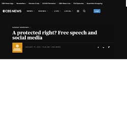 A protected right? Free speech and social media