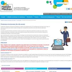 Protecteurs de données (4e à 6e année)