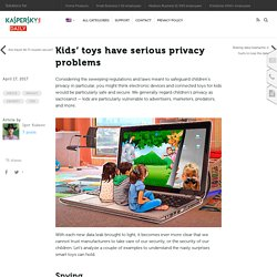 Protecting kids from insecure devices and invasive online services – Kaspersky Lab official blog