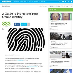 A Guide to Protecting Your Online Identity