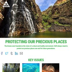 Protecting our precious places