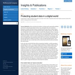 Protecting student data in a digital world