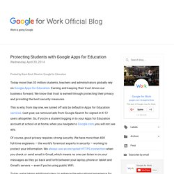 Protecting Students with Google Apps for Education