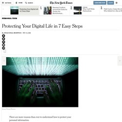 Protecting Your Digital Life in 7 Easy Steps