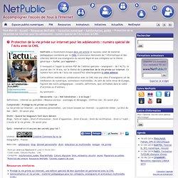 Protection de la vie privée sur Internet pour les adolescents