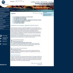 CNRS - SG - DAJ : Logiciels : La protection du nom du logiciel : application du droit des marques