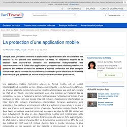 La protection d'une application mobile