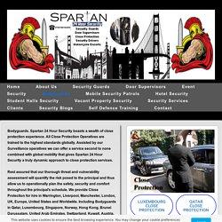 Close Protection, Bodyguards, London, UK, Europe, USA.
