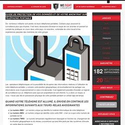 Guide de protection de vos données et de votre anonymat sur téléphone portable