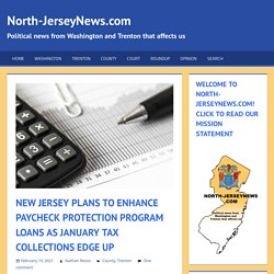 New Jersey Plans to Enhance Paycheck Protection Program Loans as January Tax Collections Edge Up