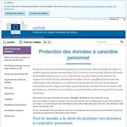 Protection des données à caractère personnel - Justice