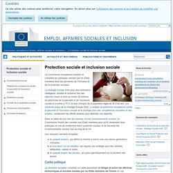 Protection sociale et inclusion sociale - Emploi, affaires sociales et inclusion - Commission européenne