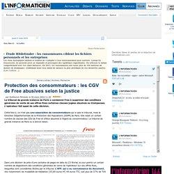 Protection des consommateurs : les CGV de Free abusives selon la justice