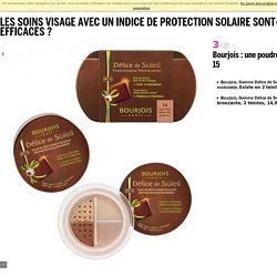 Les soins visage avec un indice de protection solaire sont-ils efficaces